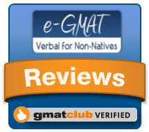 e-GMAT Reviews at GMAT Club