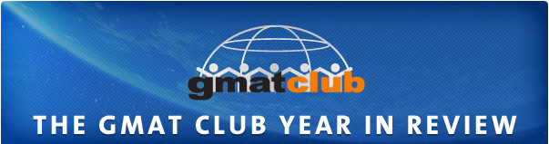GMATClub Year In Review