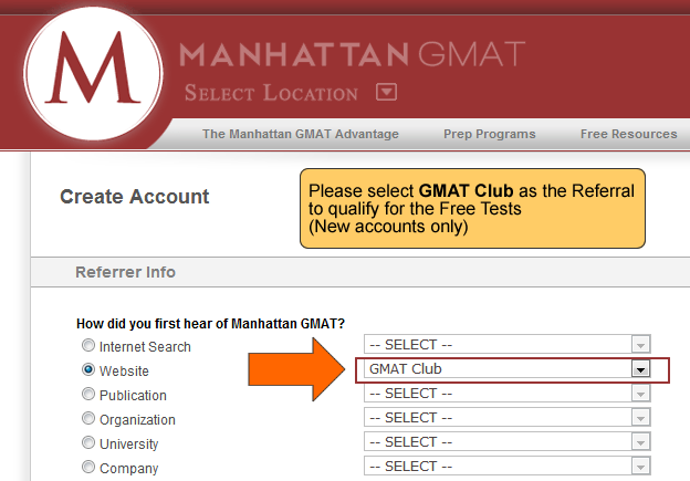 Manhattan GMAT promo