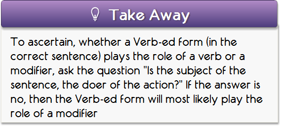 GMAT Club Forum • ED FORMS - Verbs or Modifiers : Verbal