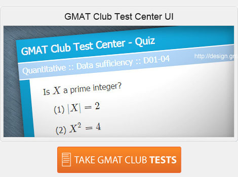 GMAT Club Forum • Adaptive GMAT Club Tests are Here