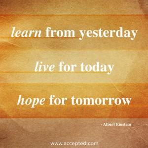 LearnFromYesterday