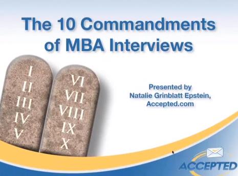 10_Commandments_of_MBA_Interviews