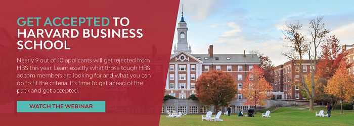 how to get accepted into hbs