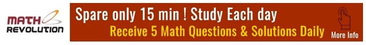 Math Revolution