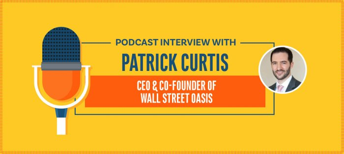 From Wall St to Wharton, While Starting Wall Street Oasis