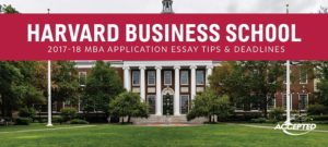 hbs mba essays tips