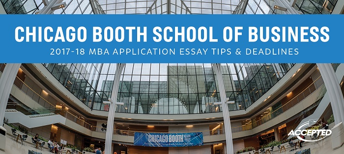 chicago booth mba essays Chicago booth full-time mba essay questions can be intimidating to some applicants here's how to answer them to distinguish yourself from your peers.