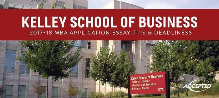 indiana mba essays Admissions guidelines for indiana tech's graduate programs require that an essay be submitted as part of the application you may use the space below or mail or fax the essay if you are applying for the mba, msm, and mse programs , please write an essay describing (a) how you expect to handle the demands of earning a graduate degree while.