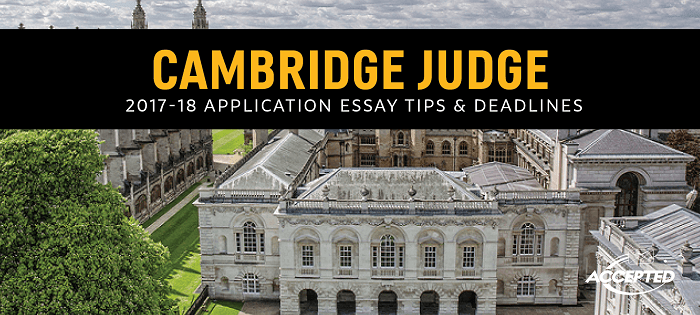 cambridge mba essays questions The cambridge mba is a unique, one-year learning experience, combining academic rigour with a focus on experiential, team-based learning the cambridge difference cambridge judge business school is embedded within the university of cambridge environment and culture, with mbas enjoying membership of one of the 31 cambridge colleges.