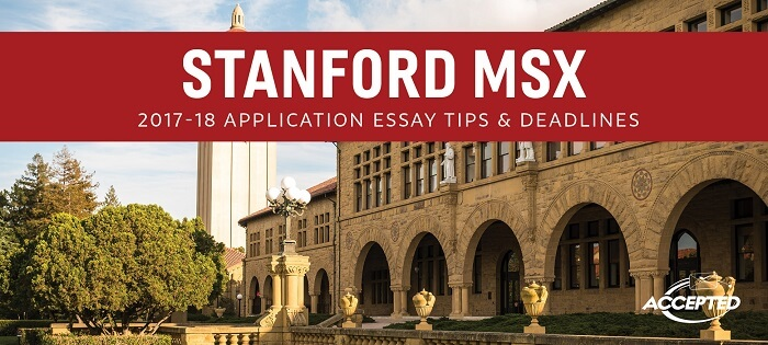 stanford dean essay Each year stanford law receives more than 3,800 applications from potential students each year approximately 180 join our community students come fr.
