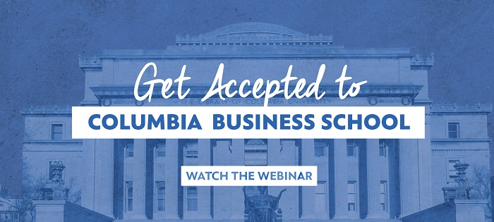 Get Accepted to CBS watch the webinar