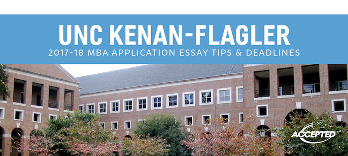 Unc mba application essays