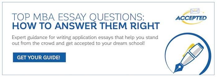 Apply to B-School: MBA Application Essays - Fortuna