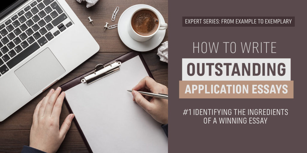 How to Write Outstanding Application Essays