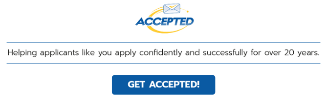 Get accepted!