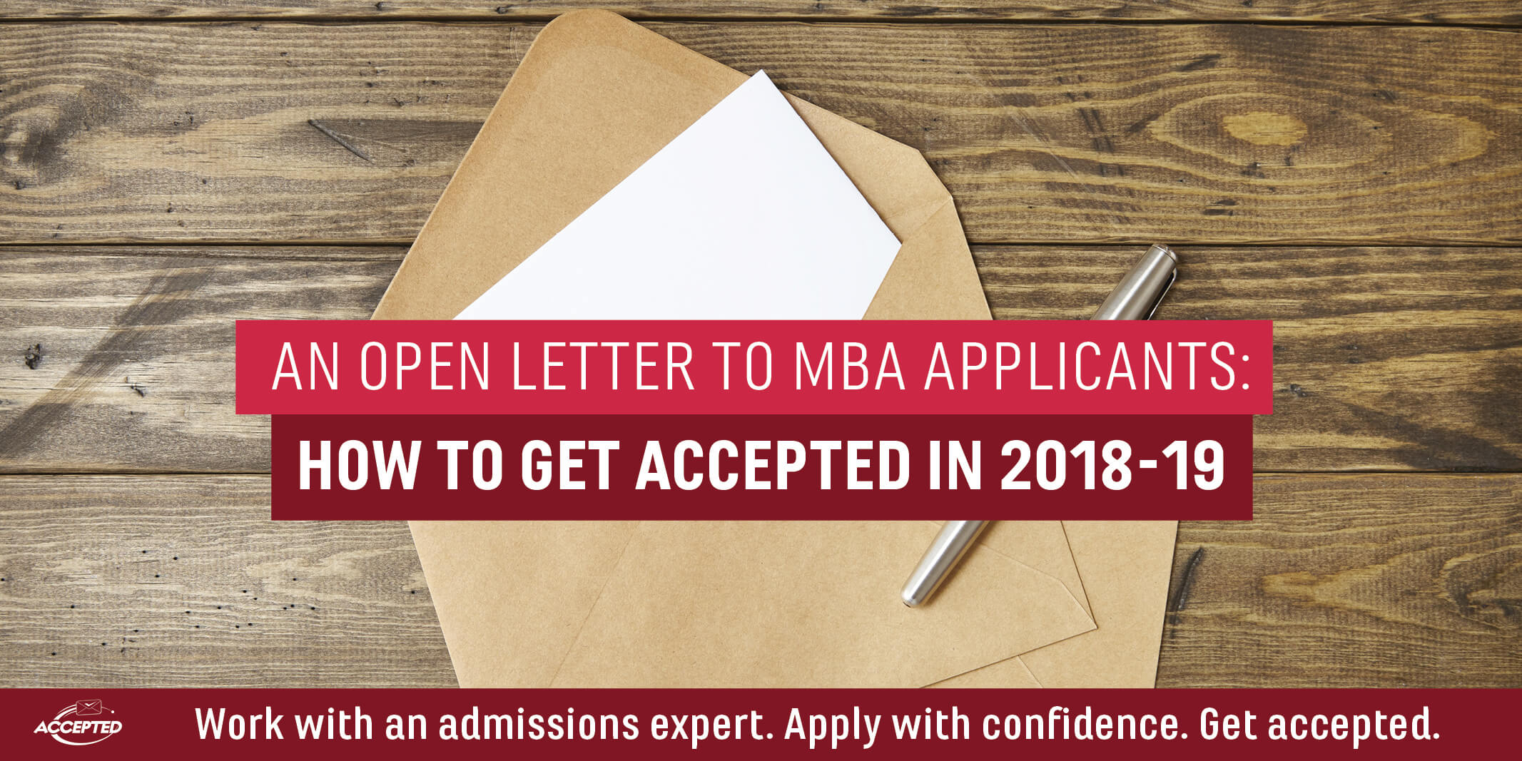2018 MBA Applicants How to Get Accepted