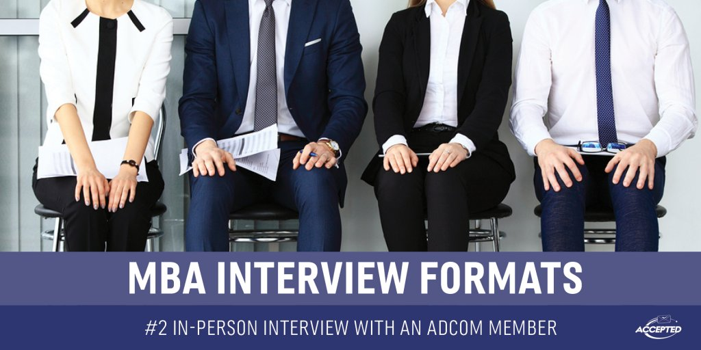 In- person interview with an adcom member