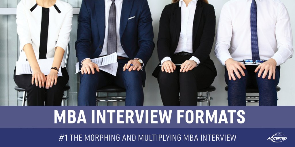 The morphing and multiplying MBA interview