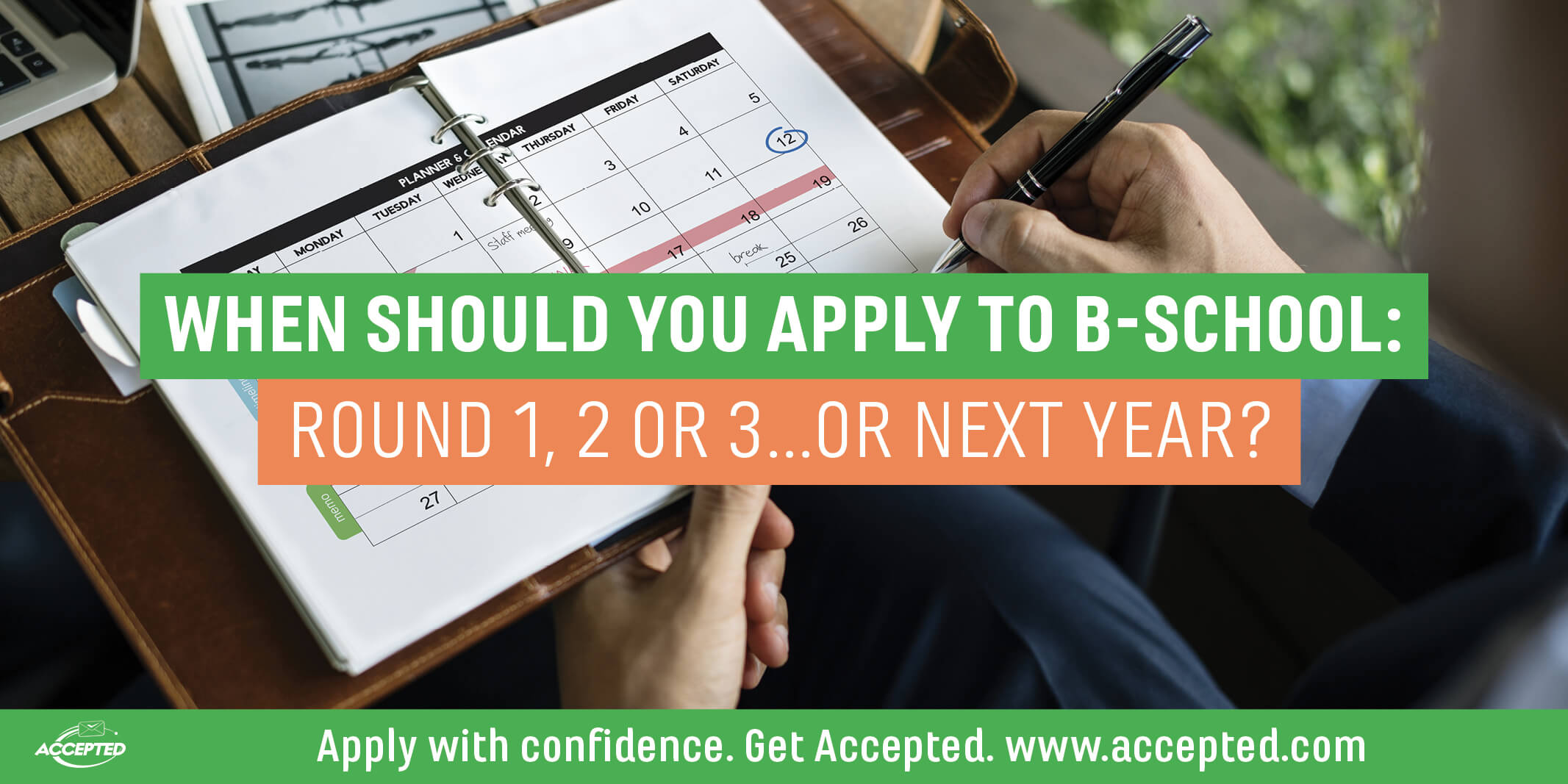 Which round should I apply to b-school?