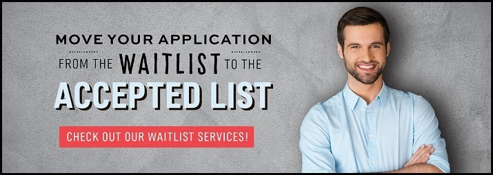 Move your application from the waitlist to the accepted list