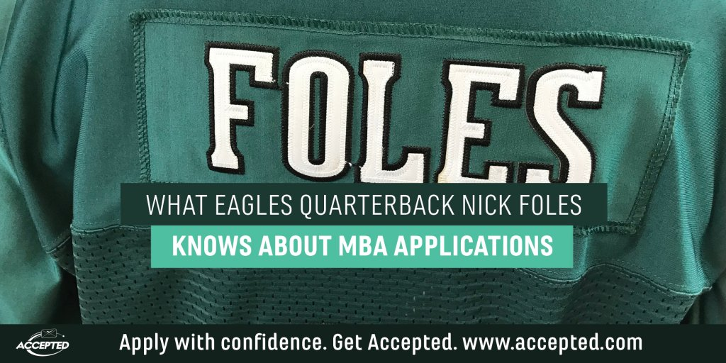 Nick-Foles-and-MBA-Applications