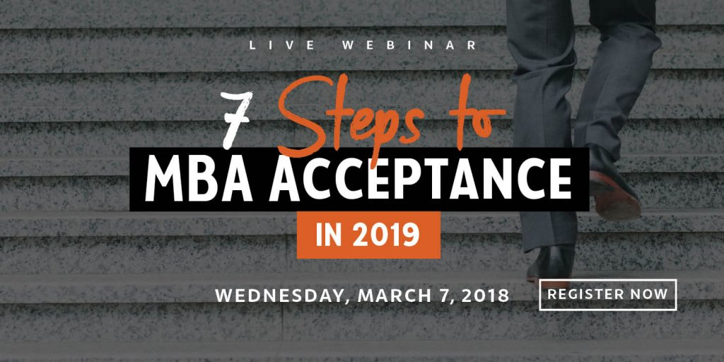 Webinar: 7 steps to acceptance in 2019