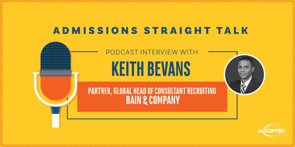 Bain & Company's Keith Bevans Talks About Careers, Life at Bain