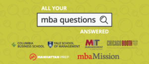 All Your MBA Questions Answered