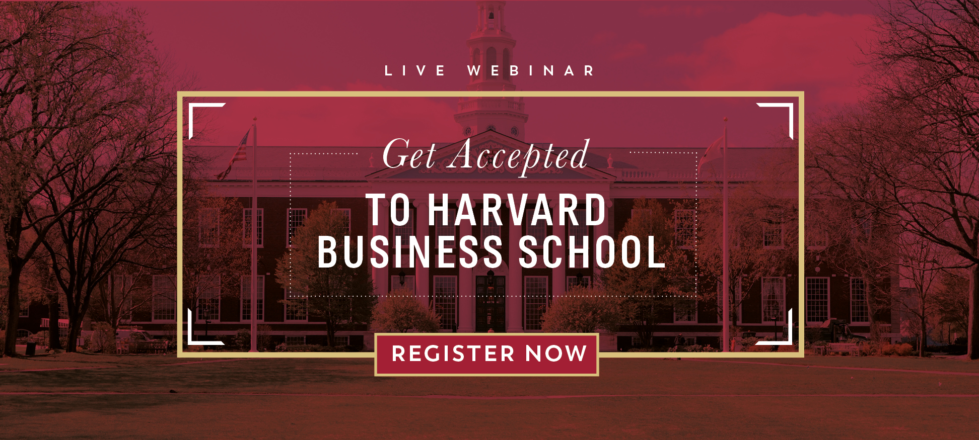 Get accepted to HBS webinar