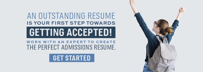 Guide to writing an outstanding admissions resume CTA