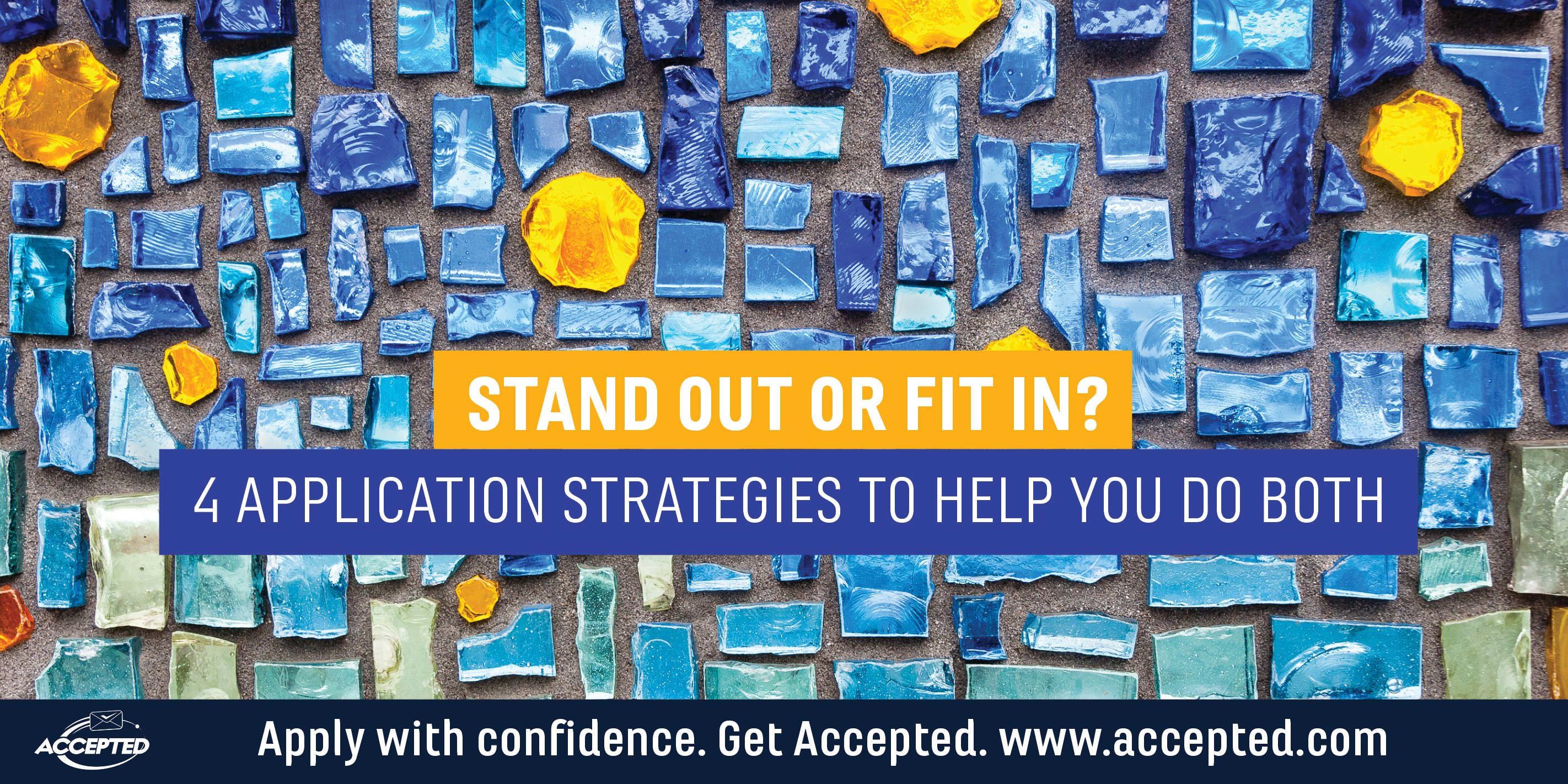 Stand out or fit in application strategy tips