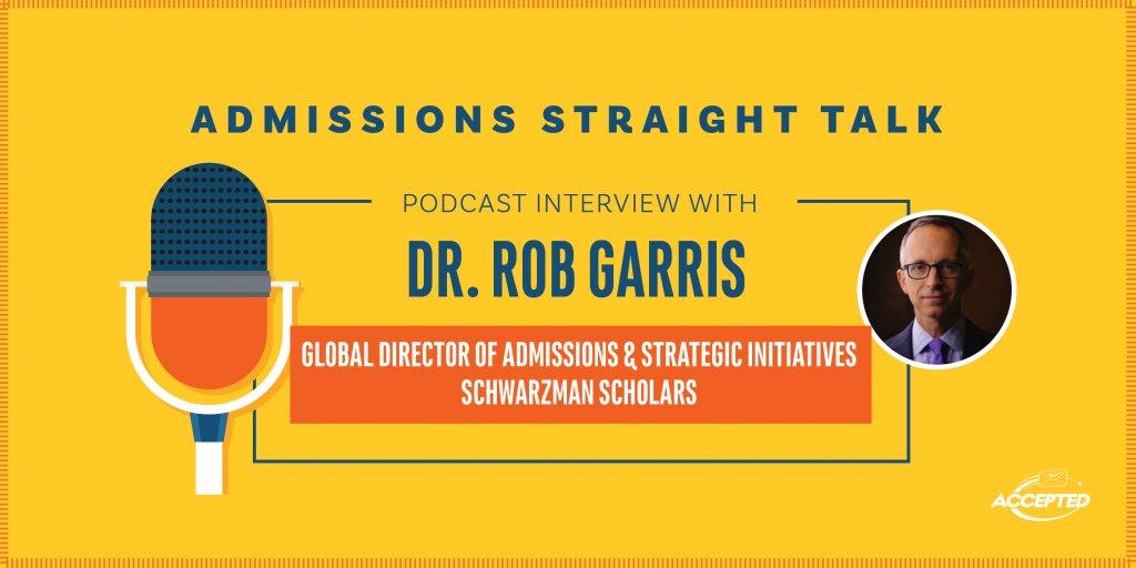 AST Interview with Dr. Rob Garris Schwarzman Scholars