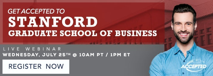 Get Accepted to Stanford GSB Webinar CTA