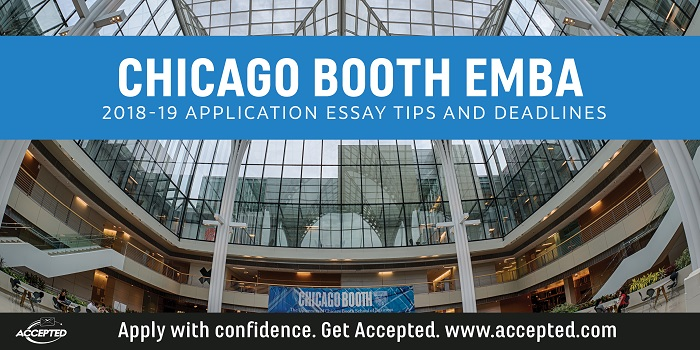 Chicago Booth 2018-19 EMBA essay tips