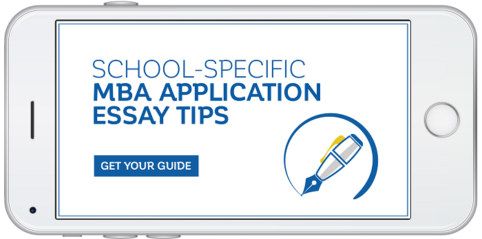 School-specific MBA application essay tips