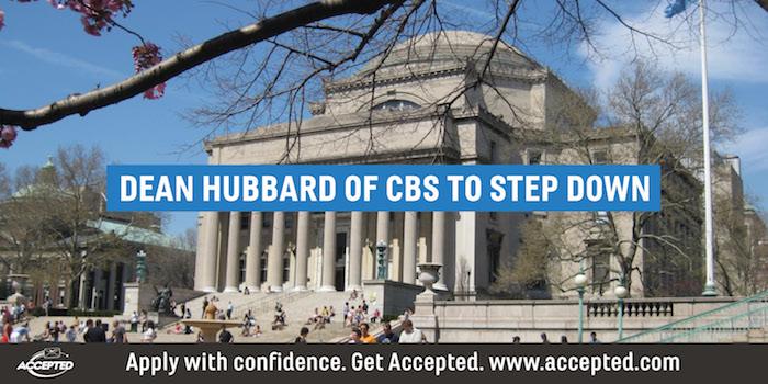 Dean Hubbard of CBS to Step Down