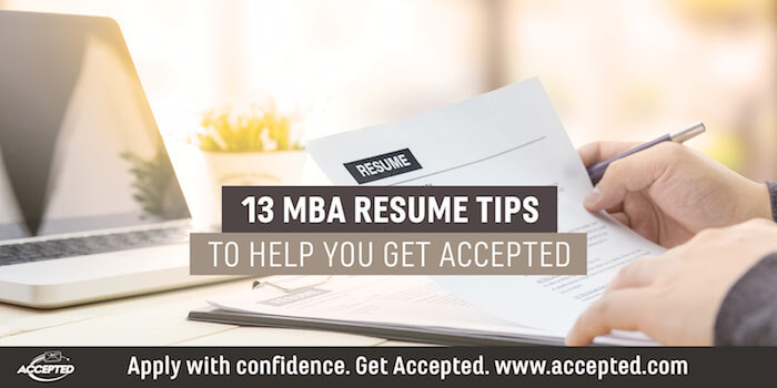 how to add candidacy to mba resume