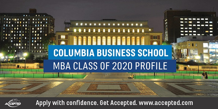 CBS MBA Class of 2020 Profile