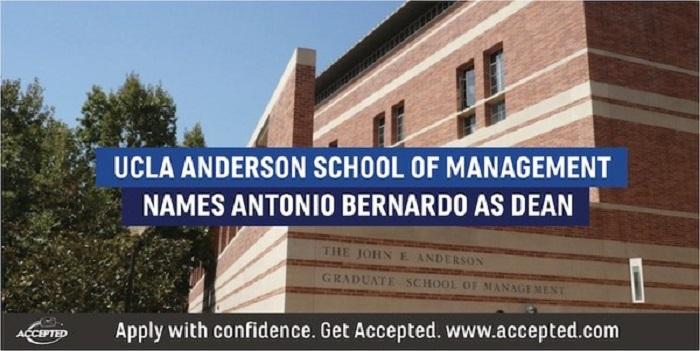UCLA Anderson School of Management Names Antonio Bernardo as Dean