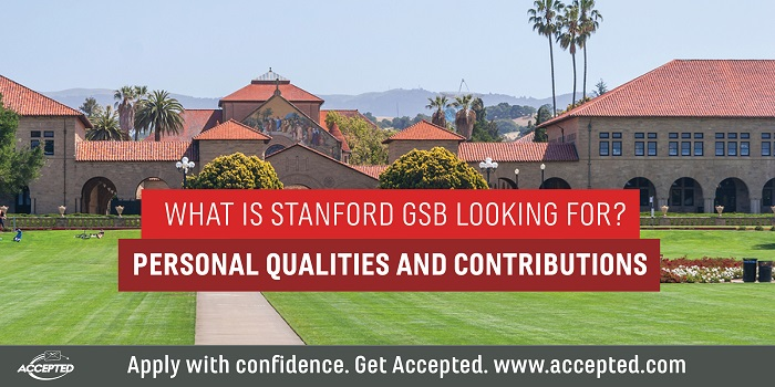 Get Accepted to Stanford GSB!