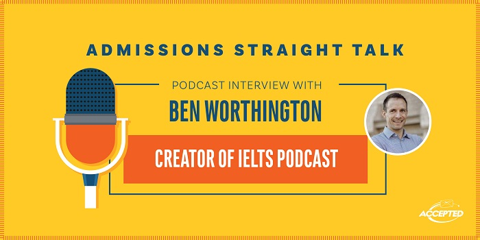 Podcast interview with Ben Worthington, creator of IELTS Podcast