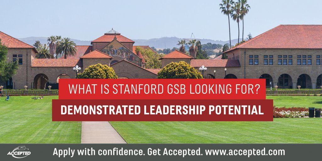 Understanding Stanford GSB's Take on Demonstrated Leadership Potential