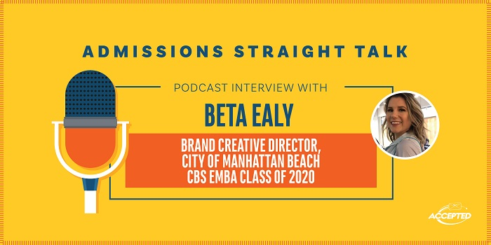 A Non-Traditional Applicant Accepted to the Columbia EMBA Program [Episode 326]