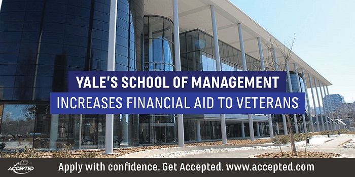 Yale's School of Management Increases Financial Aid to Veterans