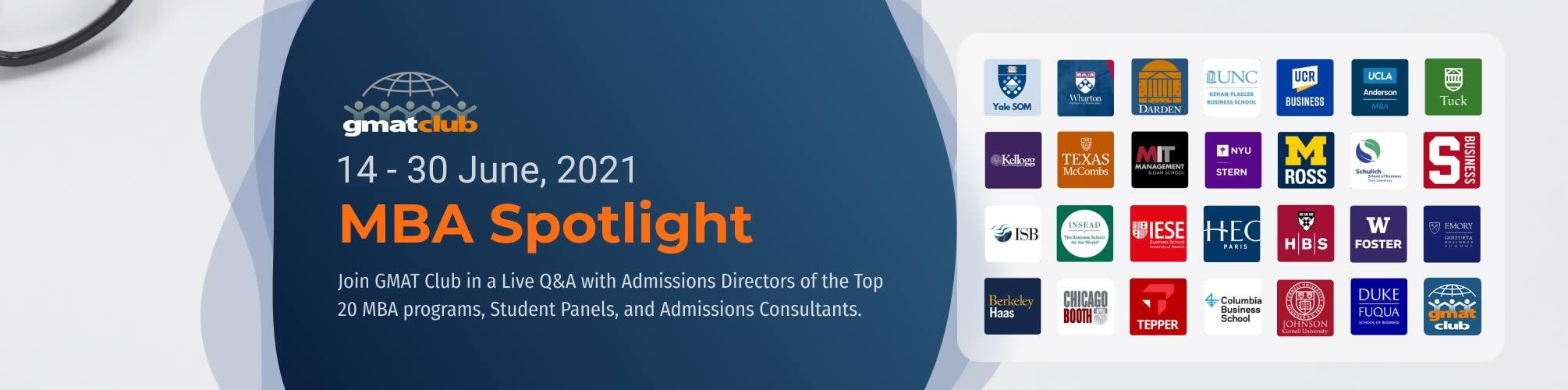 MBA Spotlight Virtual Top 20 MBA Fair