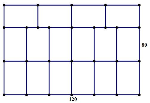 garden divided into 16 equal rectangles.JPG