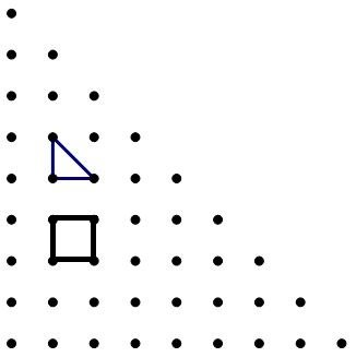 half-square grid of dots with triangle.JPG