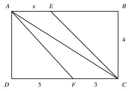 #GREpracticequestion  In the figure, ABCD is a rectangle, and the area.jpg