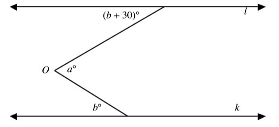 #GREpracticequestion In the figure, lines l and k are parallel.jpg